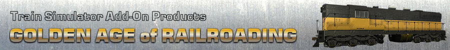 Logo: Golden Age of Railroading